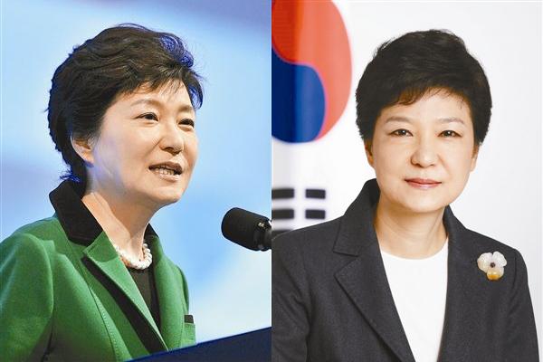 跟朴槿惠同名的韩国女主播走红