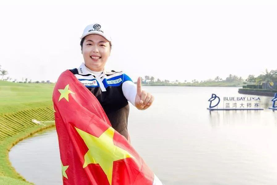 冯珊珊获ESPY奖 女子高尔夫世界第一