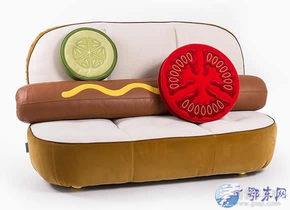 汉堡、热狗沙发你见过吗?意大利家居品牌