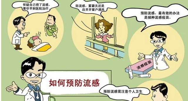 流感的预防措施  流感的预防知识