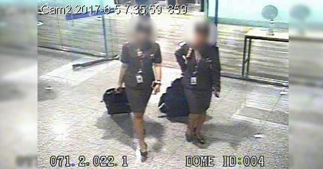 空姐内衣藏金块入韩被捕 海关称是惯犯!