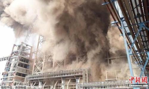 印度北部发电厂发生爆炸  造成至少20人丧生