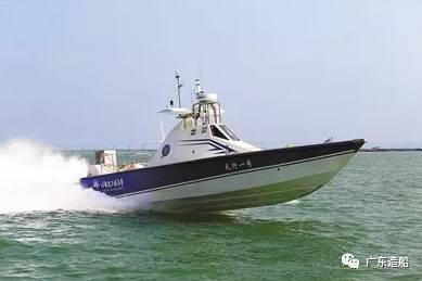 中国造最快无人艇  全球航速最高