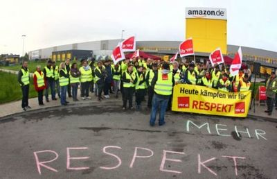 亚马逊员工罢工  要求加薪