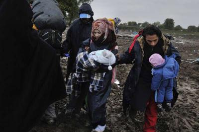叙难民联合国自焚  什么原因?