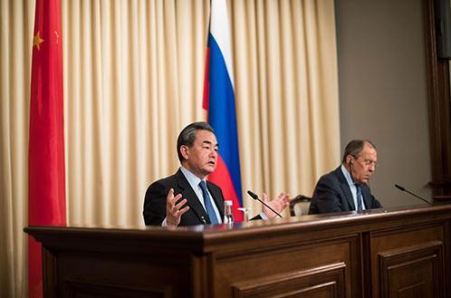 中俄反对部署萨德 中俄联合反对萨德立场高度一致!