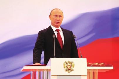 俄总统大选   普京支持率高