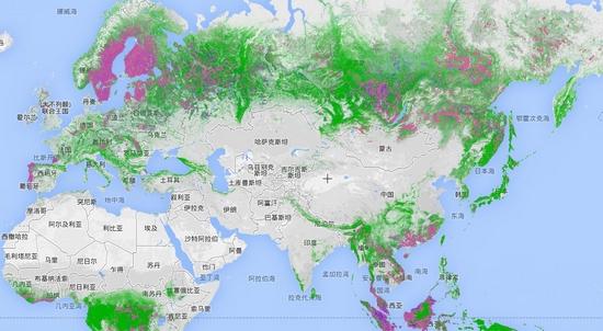 日本砍树供给中国  中国森林覆盖率提高!