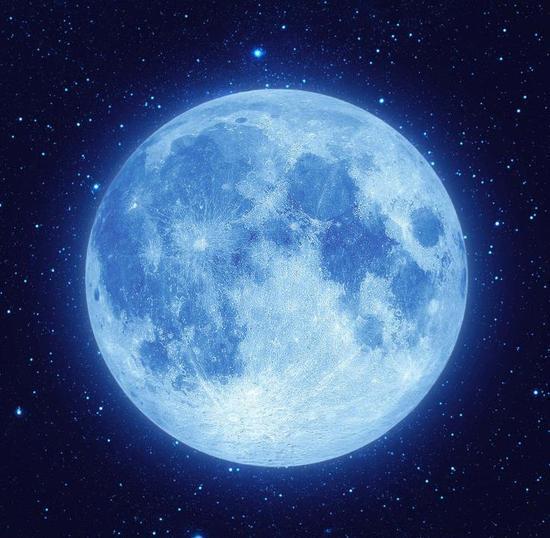 蓝月亮天象将登场  蓝月亮天象
