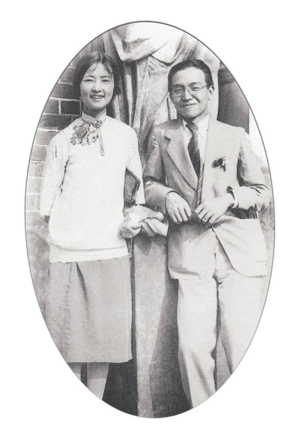 林徽因讣闻,传奇夫妻!