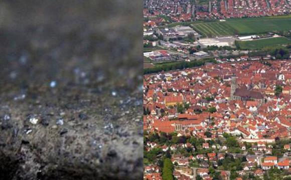 小镇建筑共镶7.2万吨钻石  被称为钻石城
