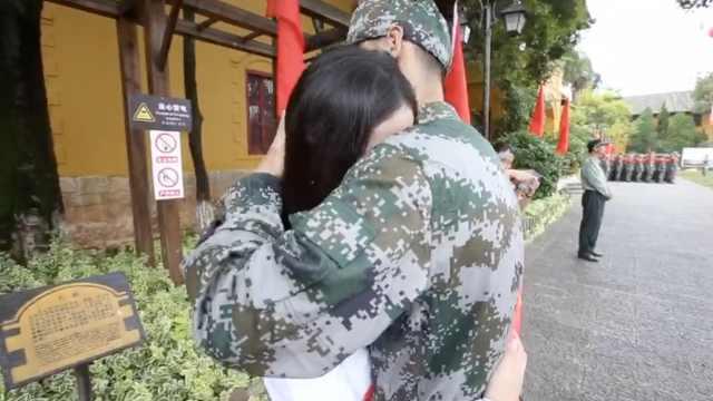 美女留学前送男友从军  两年后要嫁他!