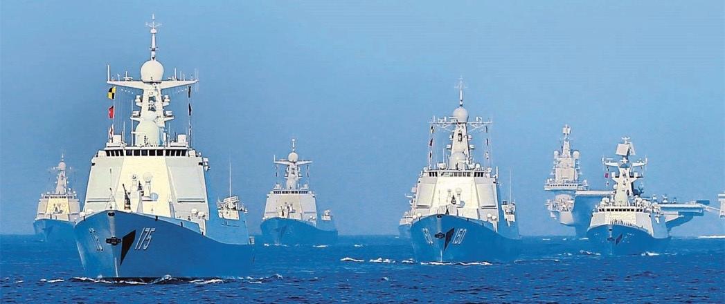 新中国规模最大的海上阅兵  高清大图震撼来袭!