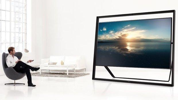 全球最大4K电视诞生 客厅能放下?