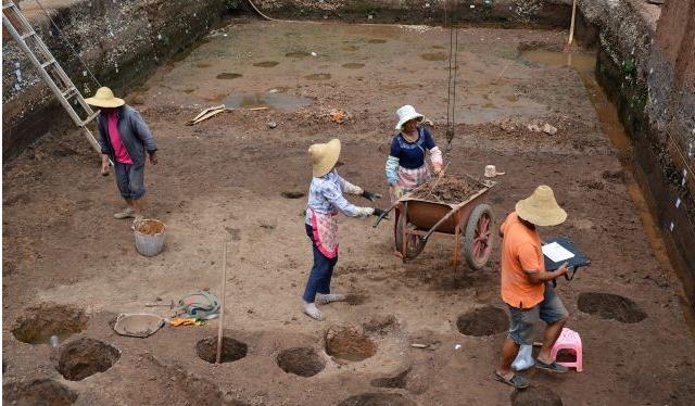 【组图】昆明现9口汉代水井,是古滇国村落吗?