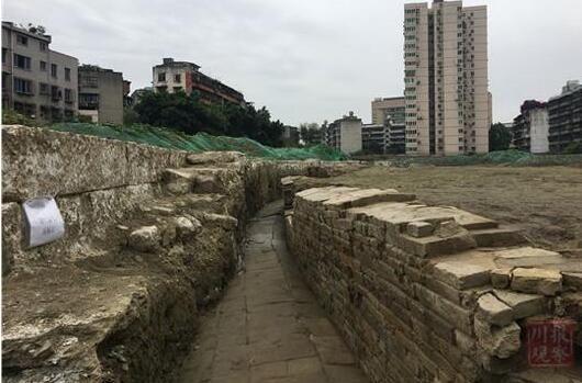 成都发现唐代城墙  还有传说!