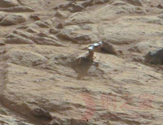 火星现外星人脸   引热议!