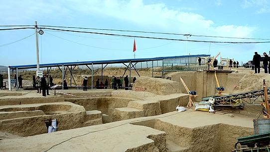 彭阳发现商周遗址  发掘墓葬10座