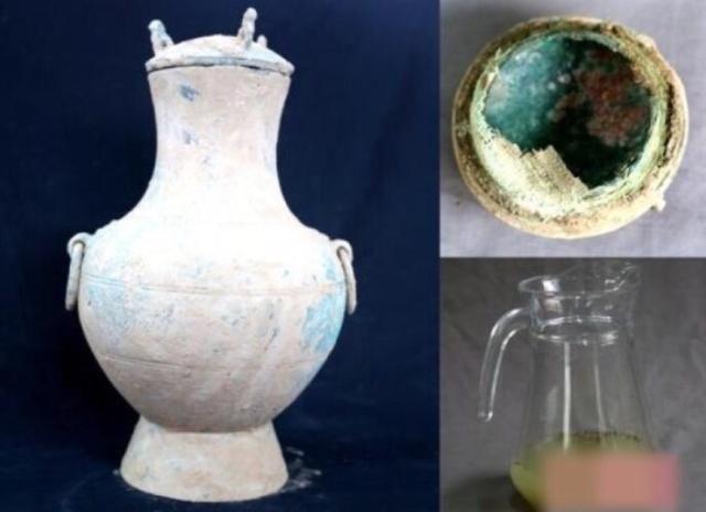 陕西发现秦人古酒   距今两千多年