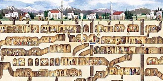 【不可思议】全世界九大最神�z的地下城市盘点!