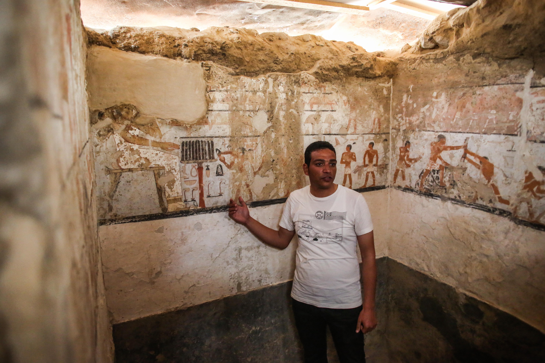 埃及发现女祭司墓 距今4400年