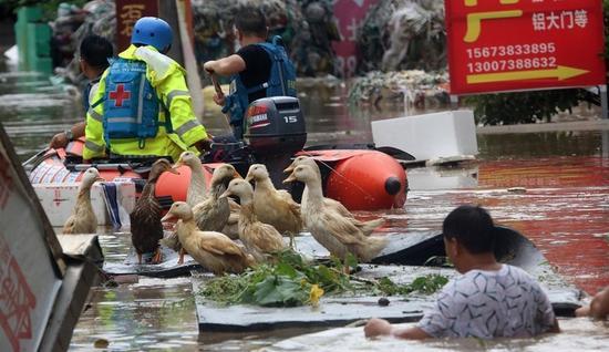 湖南娄底遇300年一遇暴雨 27万人受灾!