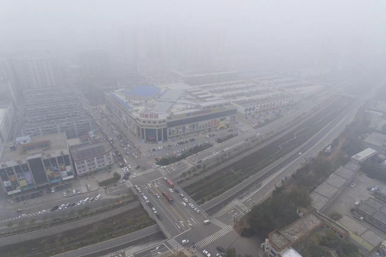 北京发布空气重污染橙色预警!