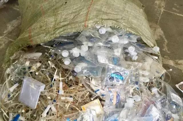 百余吨医疗垃圾流入市场 网友称一点安全感没有!