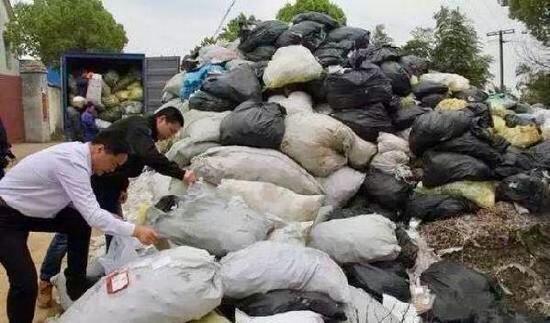 【百余吨医疗垃圾流入市场 】140余吨医疗垃圾流入市场触目惊心!