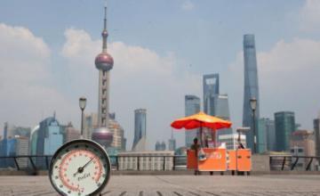 上海将连迎40度高温!
