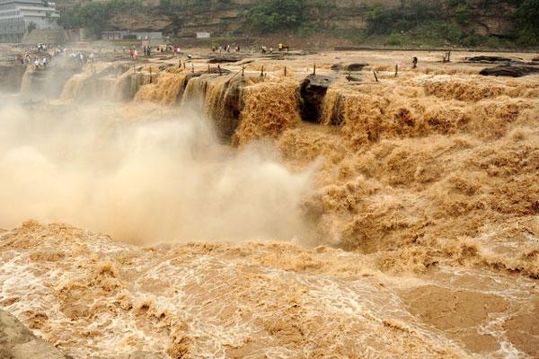 黄河委发布洪水蓝色预警 影响范围涉及三省!