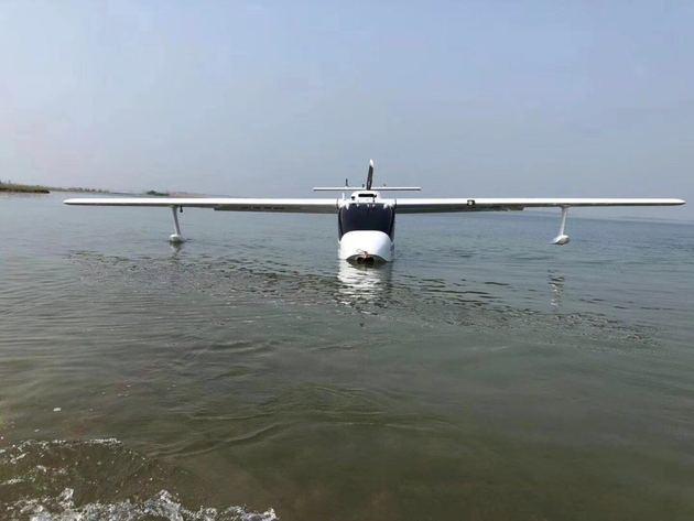 EMS两栖无人机试飞成功!